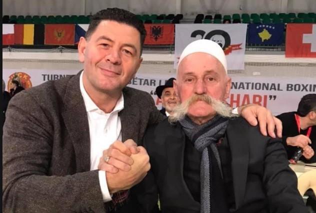 Legjenda E Boksit Shqiptare Luan Krasniqi Nderon Turneun Adem Jashari Gazeta Projekti